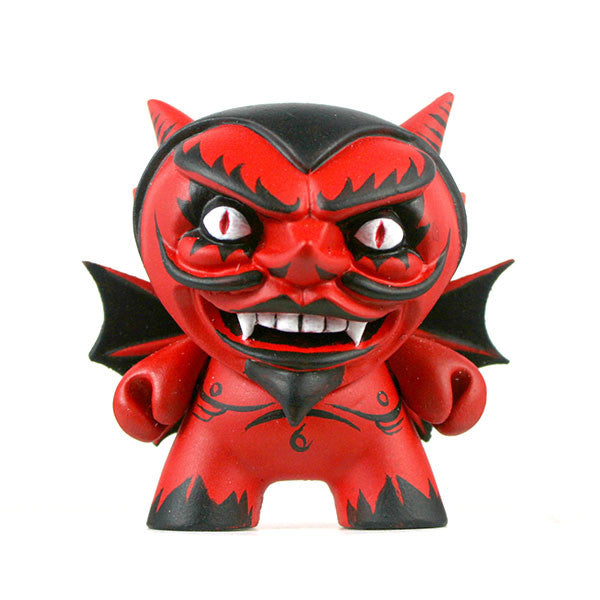 Hugh Rose The Damned Red Devil Custom Dunny vendor-unknown Tenacious Toys®