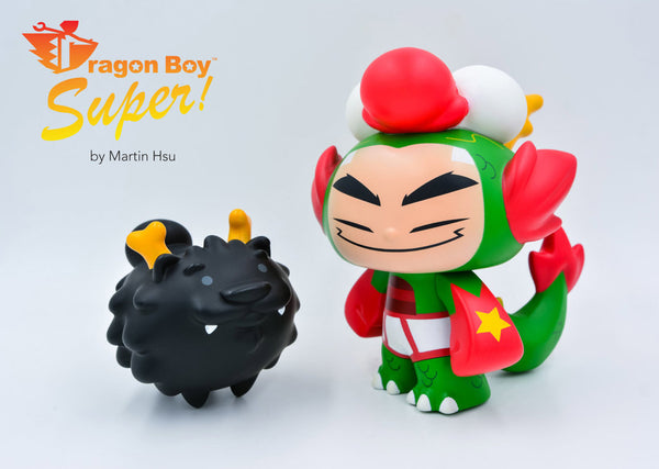Martin Hsu Dragon Boy vinyl figure set Powercore Edition Powercore Vinyl Art Toy Tenacious Toys®