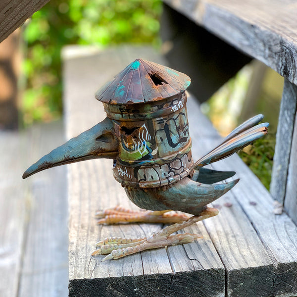 "Custom KMND-Z HOB Water Tower Bird 8"" figure by DrilOne DrilOne Custom Tenacious Toys®"