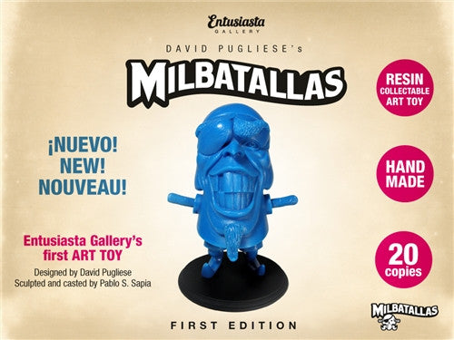 The Pirate Milbatallas Blue by Entusiasta Gallery no. 12 - Tenacious Toys® - 1