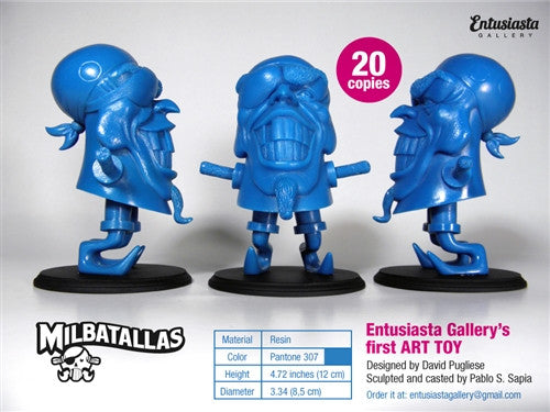 The Pirate Milbatallas Blue by Entusiasta Gallery no. 15 vendor-unknown Tenacious Toys®