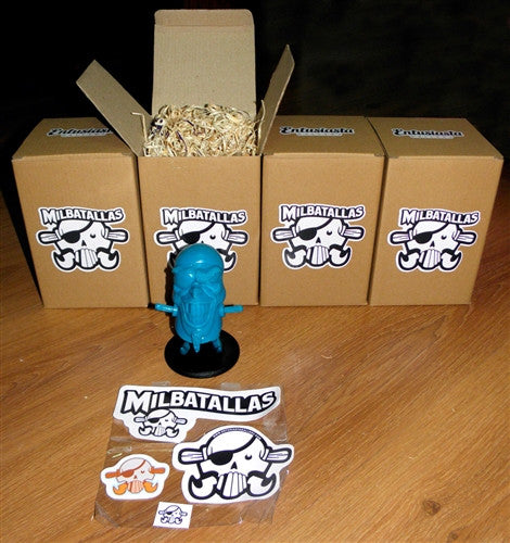 The Pirate Milbatallas Blue by Entusiasta Gallery no. 15 - Tenacious Toys® - 3