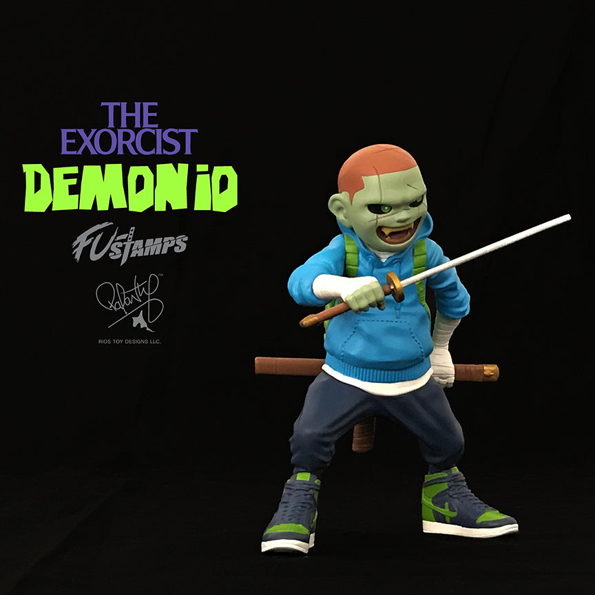 FU-Stamps Demonio 7-inch resin figure The Exorcist Edition FU-Stamps Resin Tenacious Toys®