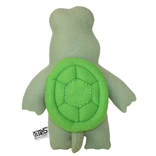 "Furry Feline Creatives Dude the Turtle Plush 12"" Classic vendor-unknown Tenacious Toys®"