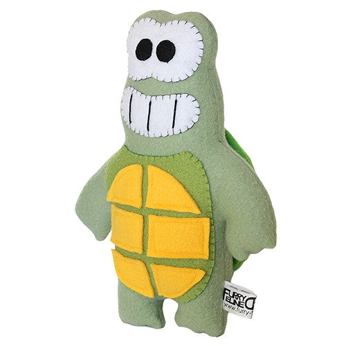 "Furry Feline Creatives Dude the Turtle Plush 12"" Classic vendor-unknown Plush Tenacious Toys®"