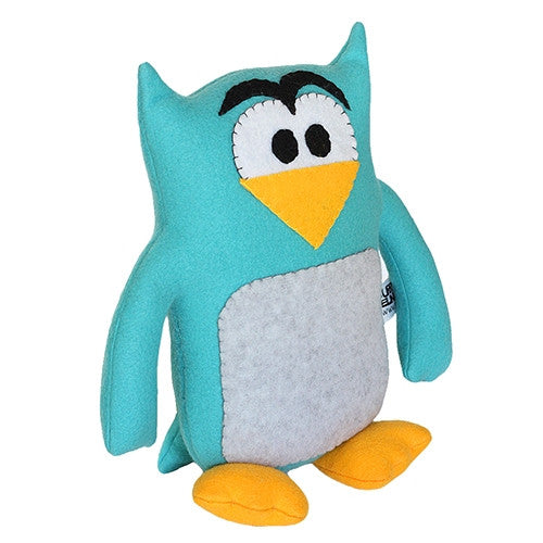 "Furry Feline Creatives Howie the Owl Plush 12"" Classic - Tenacious Toys® - 3"