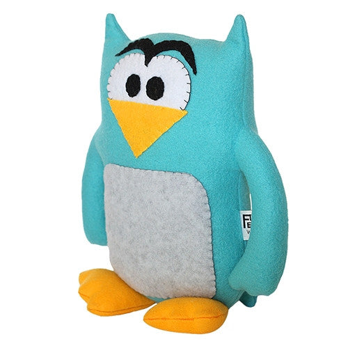 "Furry Feline Creatives Howie the Owl Plush 12"" Classic - Tenacious Toys® - 4"