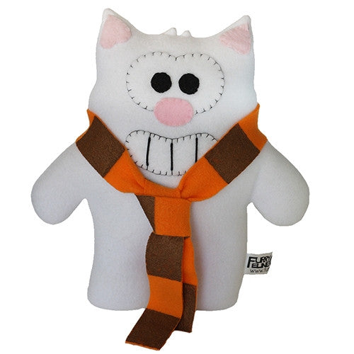 "Furry Feline Creatives Purridge the Cat Plush 12"" Classic - Tenacious Toys® - 1"