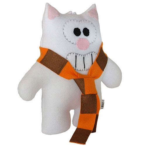 "Furry Feline Creatives Purridge the Cat Plush 12"" Classic vendor-unknown Tenacious Toys®"