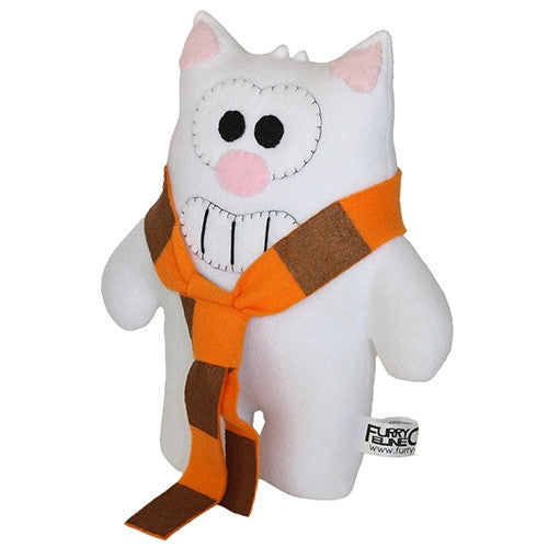 "Furry Feline Creatives Purridge the Cat Plush 12"" Classic - Tenacious Toys® - 4"