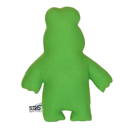 "Furry Feline Creatives Ribbit the Frog Plush 12"" Classic - Tenacious Toys® - 2"