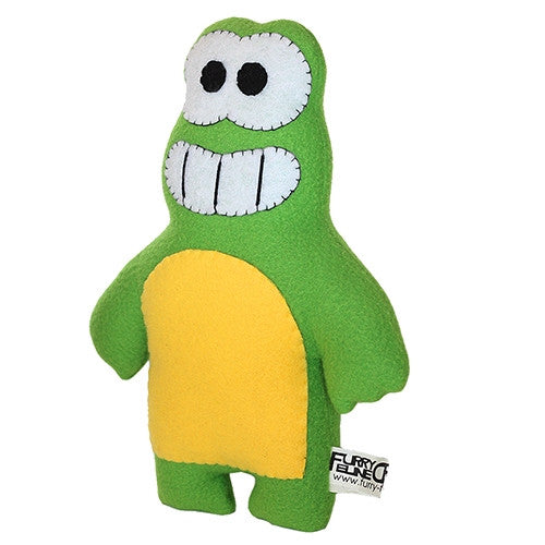 "Furry Feline Creatives Ribbit the Frog Plush 12"" Classic vendor-unknown Plush Tenacious Toys®"