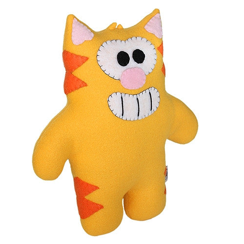 "Furry Feline Creatives Ringo the Cat Plush 12"" Classic - Tenacious Toys® - 3"