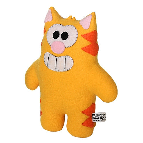"Furry Feline Creatives Ringo the Cat Plush 12"" Classic - Tenacious Toys® - 4"