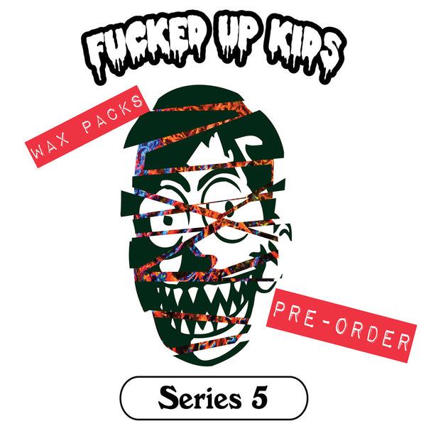 FUK Series 5 Trading Card Pack by Renone - Tenacious Toys®