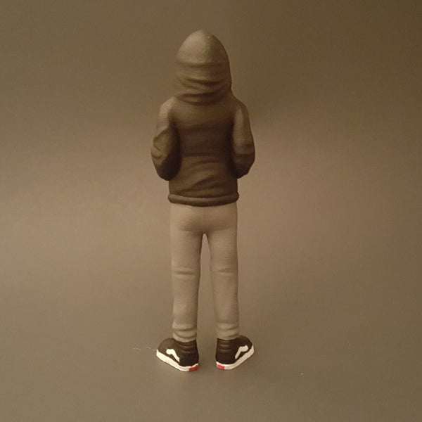 Future Vandal Resin Figure by CADatonic - Tenacious Toys® - 3