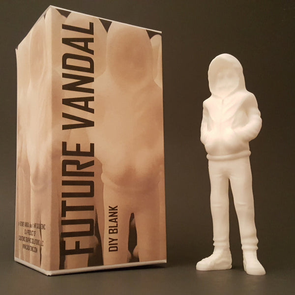 Future Vandal DIY Resin Figure by CADatonic - Tenacious Toys® - 1