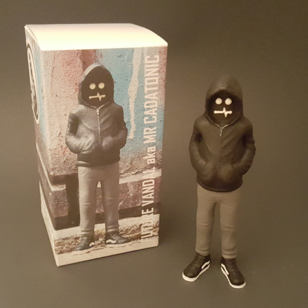 Future Vandal Resin Figure by CADatonic - Tenacious Toys® - 1