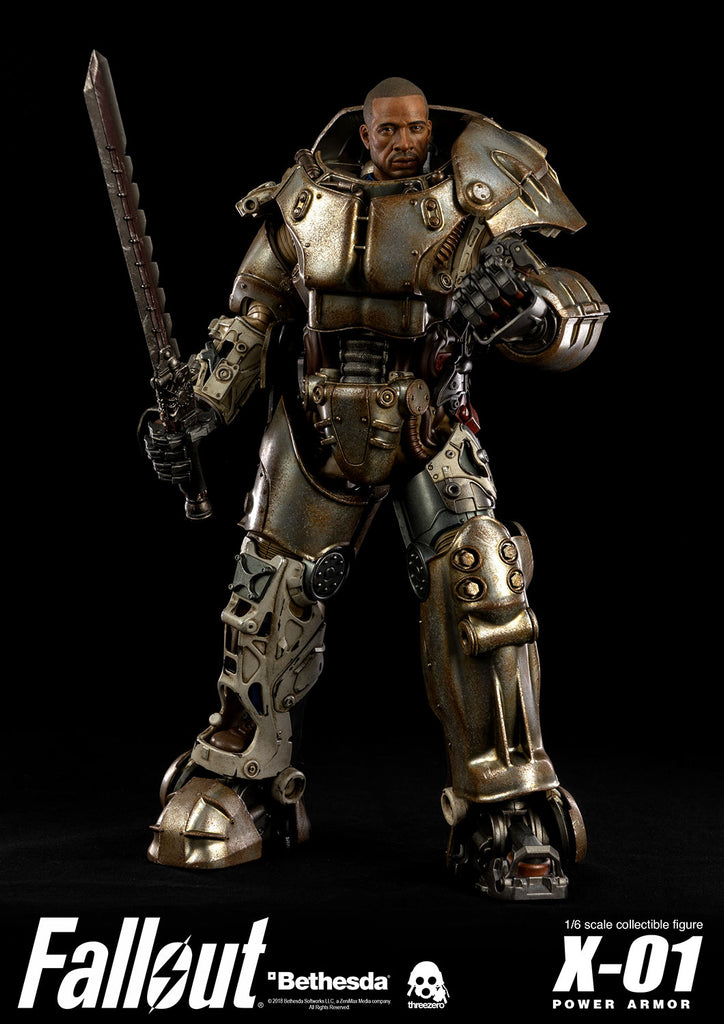 Fallout Power Armor X-01 Standard Edition 1/6-scale action figure by Three Zero 3A 3A Tenacious Toys®