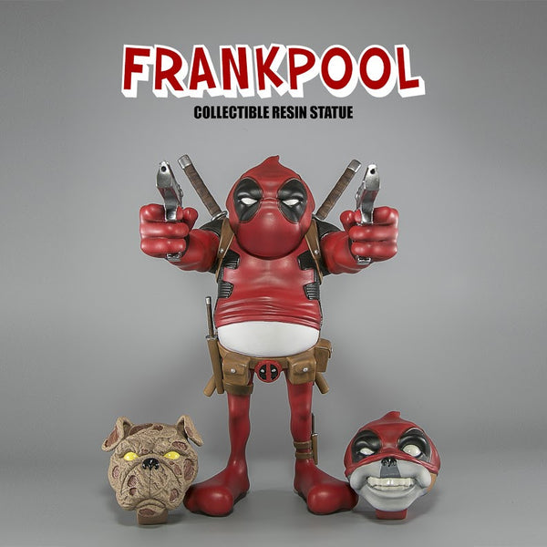 Concrete Jungle Frankpool 9-inch resin standard figure by Steven Cartoccio - Tenacious Toys® - 1