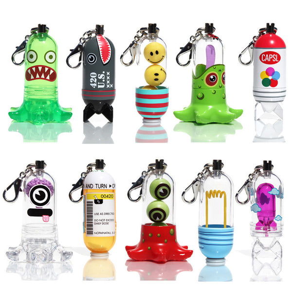Jason Freeny CAPSL Keychain Full Set - Tenacious Toys® - 2