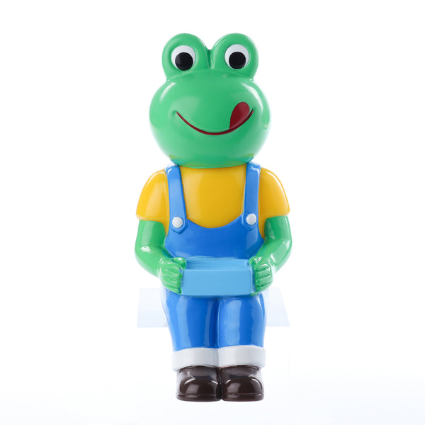 Pointless Island Frog Worker Lunchtime 4.7-inch vinyl figure by Awesome Toys Pointless Island Vinyl Art Toy Tenacious Toys®