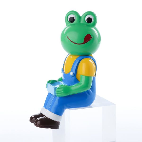 Pointless Island Frog Worker Lunchtime 4.7-inch vinyl figure by Awesome Toys