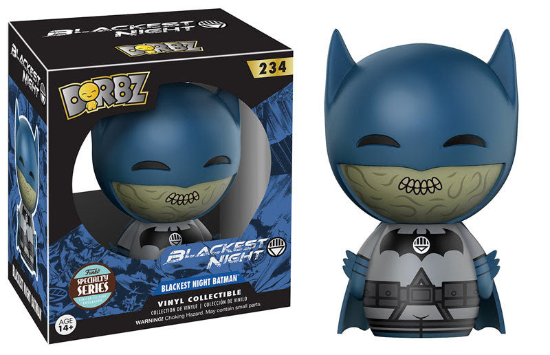 Funko Dorbz Specialty Blackest Night Batman Vinyl Figure #234 Funko Funko Tenacious Toys®