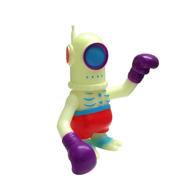 Glow Cyclobot Fighter 4-inch Vinyl Figure by Super7 x Secret Base - Tenacious Toys®