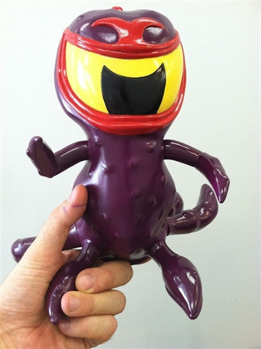 Go Hero Tentikill Arch Villain Purple edition vinyl figure vendor-unknown Tenacious Toys®