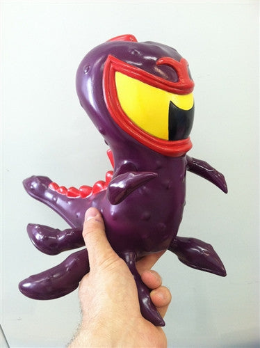Go Hero Tentikill Arch Villain Purple edition vinyl figure vendor-unknown Vinyl Art Toy Tenacious Toys®