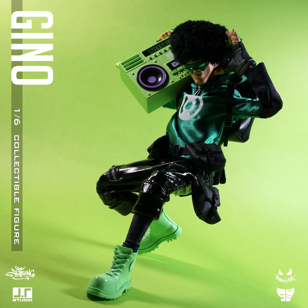 Gino 1/6-scale Street Mask action figure by JT Studio