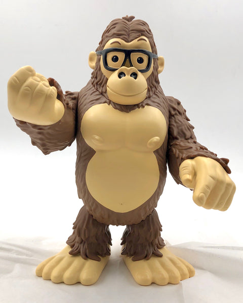 James Groman Gorilla OG Brown Edition 8-inch vinyl figure by GoGorilla GoGorilla Vinyl Art Toy Tenacious Toys®