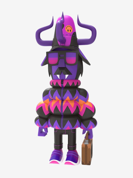Pete Fowler Maximillian Ca$h Gothic Sunset edition 10-inch vinyl figure by Superplastic