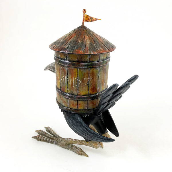 KMND-Z HOB Water Tower Bird Tenacious Exclusive GID Edition 8-inch vinyl figure 3DRetro Vinyl Art Toy Tenacious Toys®