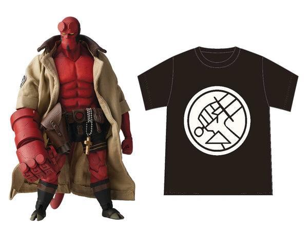 Hellboy BPRD Shirt Version 1:12-scale action figure by 1000toys x Mike Mignola PREORDER ships Aug 2020 1000toys Action Figure Tenacious Toys®
