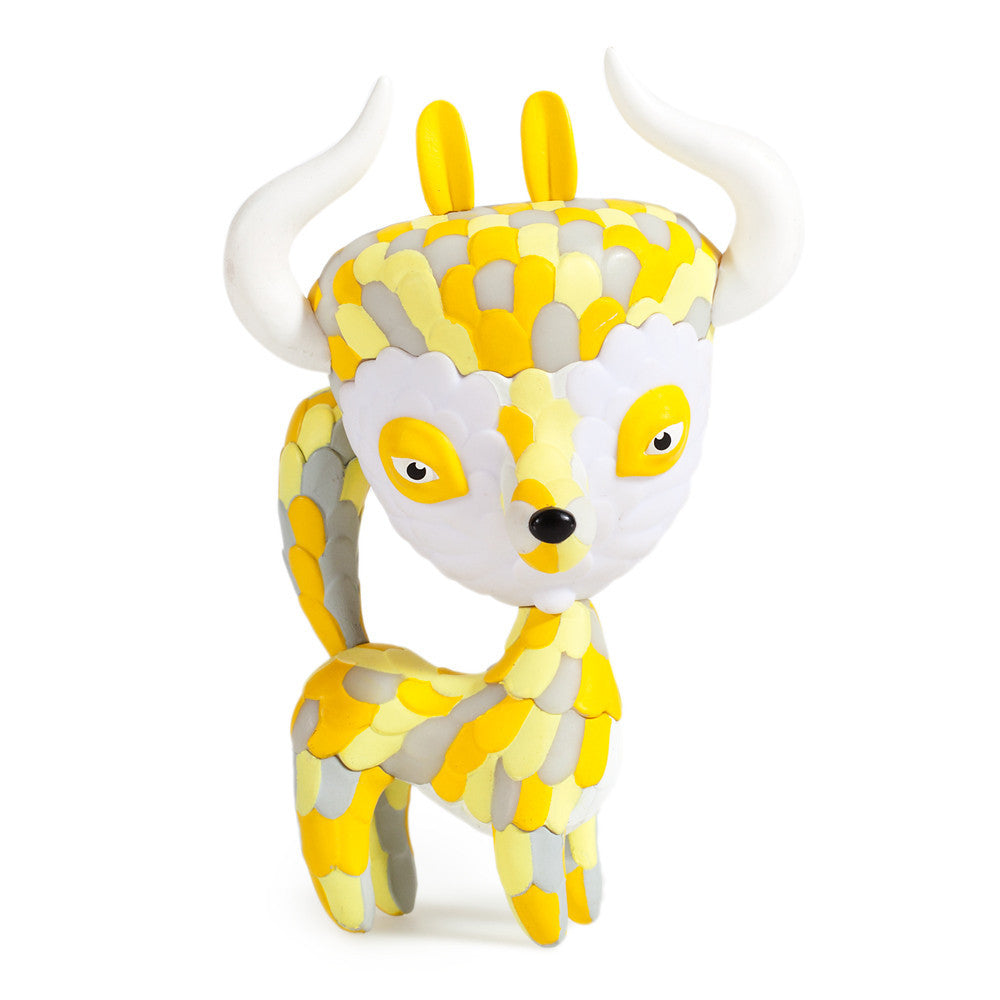 Kidrobot Horrible Adorables Yippey Yak 4in vinyl figure - Tenacious Toys® - 1