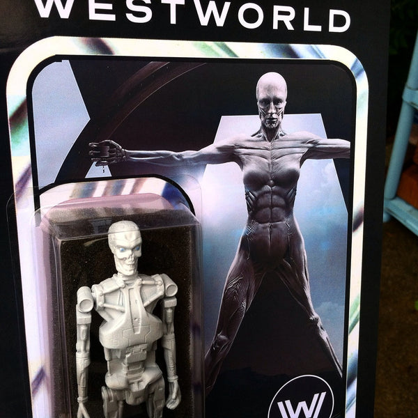 Westworld Android Custom Action Figure by Evilos Evilos Action Figure Tenacious Toys®