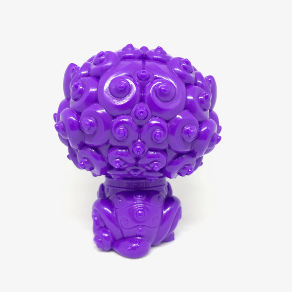 Shi-Shi the Tiny Guardian Blurple Edition 4-inch sofubi figure by Bigshot Toys (NYCC Exclusive)