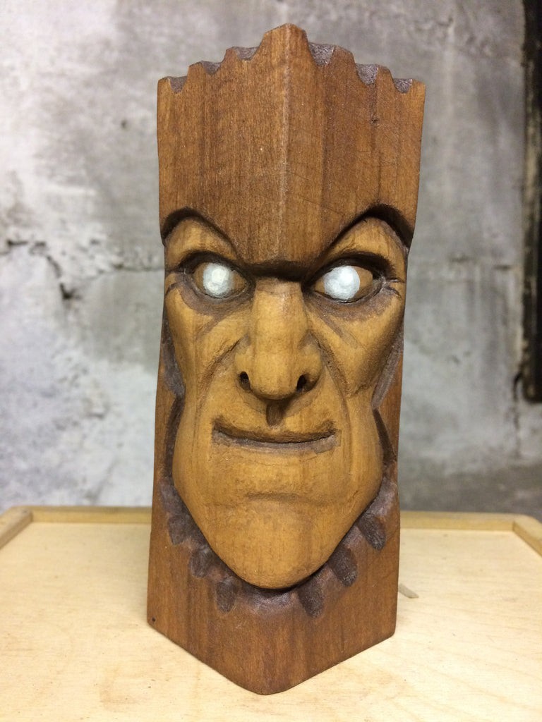 Undead Knight Guard Wood Carving by NEMO NEMO Custom Tenacious Toys®