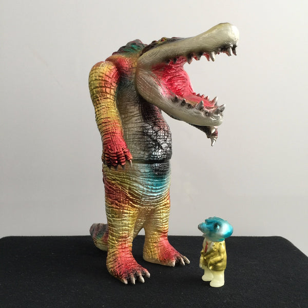 Five Points Two Toed Tom GID 9-inch sofubi with Blobpus paint by Rampage Toys Rampage Toys Sofubi Tenacious Toys®