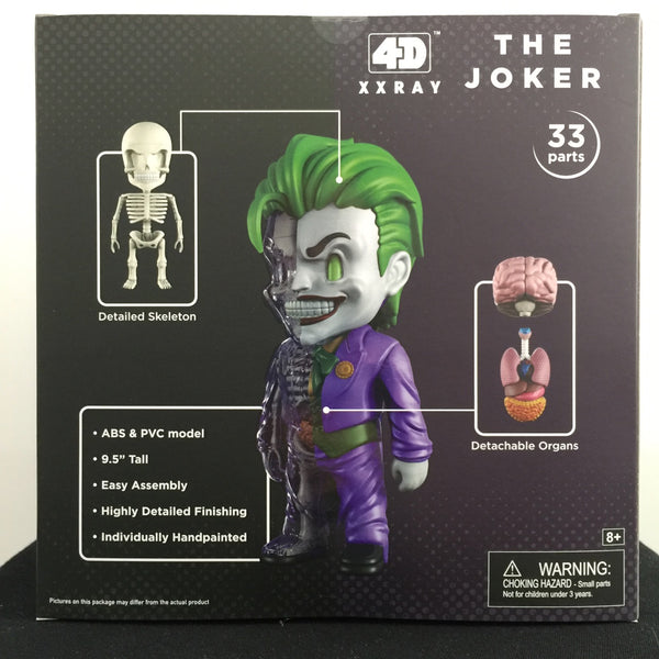 4D XXRAY Joker GID 9.5-inch vinyl figure by Mighty Jaxx Convention Exclusive MightyJaxx Vinyl Art Toy Tenacious Toys®