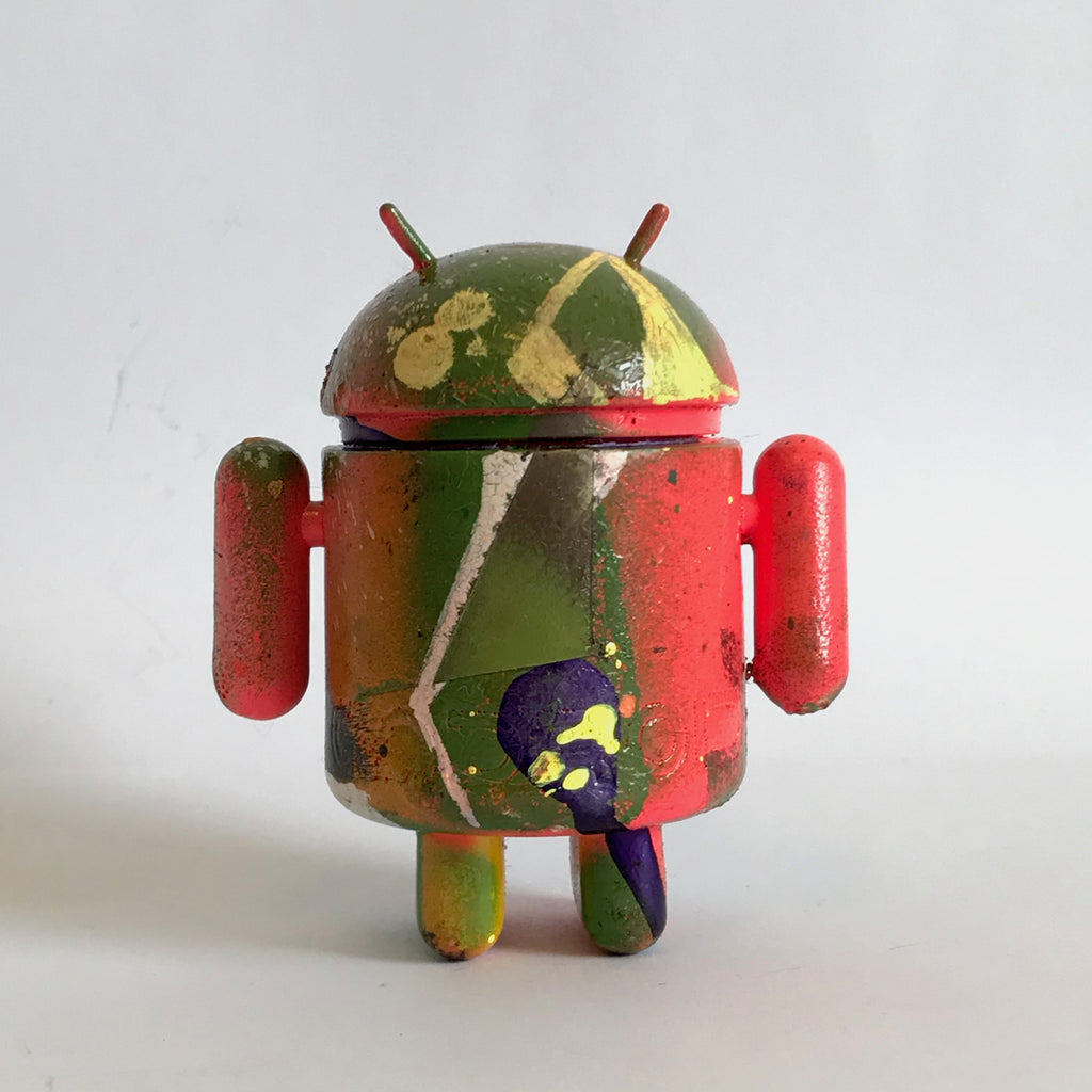 Mr Munk Custom 3-inch Android Multicolored with Star Eye vendor-unknown Custom Tenacious Toys®