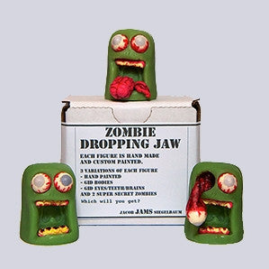 Zombie Dropping Jaw Blind Box by Jacob JAMS vendor-unknown Resin Tenacious Toys®
