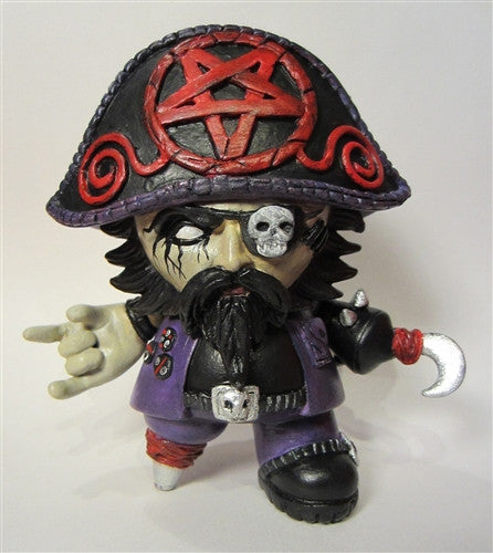 Black Metal Beard custom Toy2R Captain Sturnbrau by Scott Kinnebrew - Tenacious Toys® - 1
