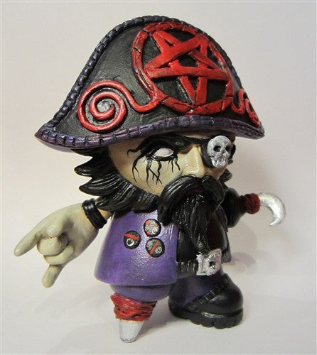 Black Metal Beard custom Toy2R Captain Sturnbrau by Scott Kinnebrew - Tenacious Toys® - 3