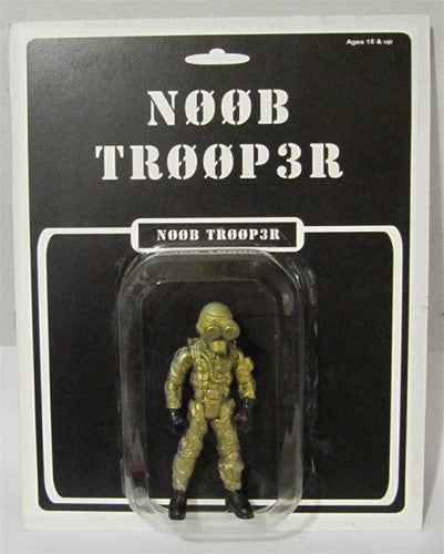 Kid Ink Industries N00B TR00P3R action figure by Kris Dulfer - Tenacious Toys®