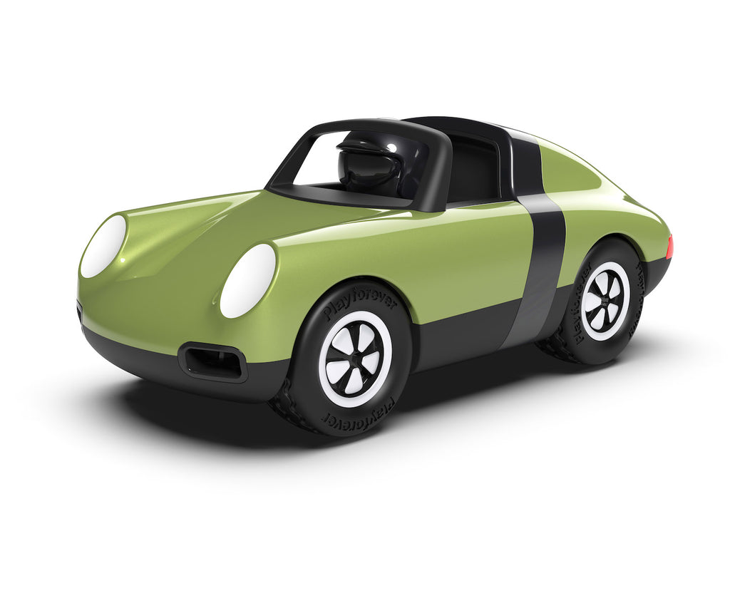 Playforever LUFT Hopper Green collectible toy car Playforever Children Tenacious Toys®