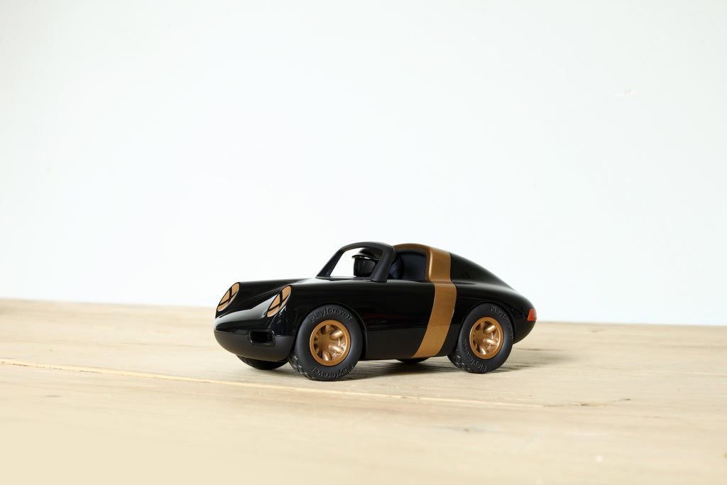 Playforever LUFT Crow Black & Gold collectible toy car Playforever Children Tenacious Toys®