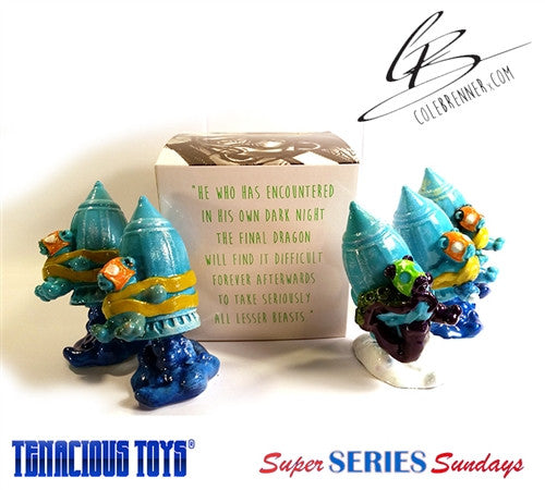 My Bomb to Bear 3.5-in resin blind box figure by Cole Brenner - Tenacious Toys® - 2